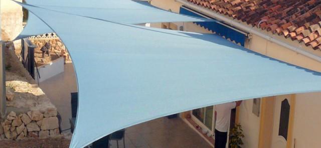 Tenda a vela rettangolare pi di fantastiche idee su for Tenda a vela rettangolare