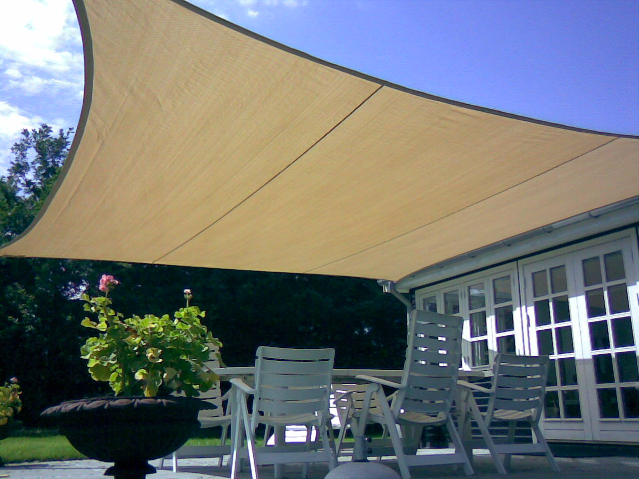 Easyshade ombreggiante 180gr a 4 lembi maanta - Vele da sole per esterni ...