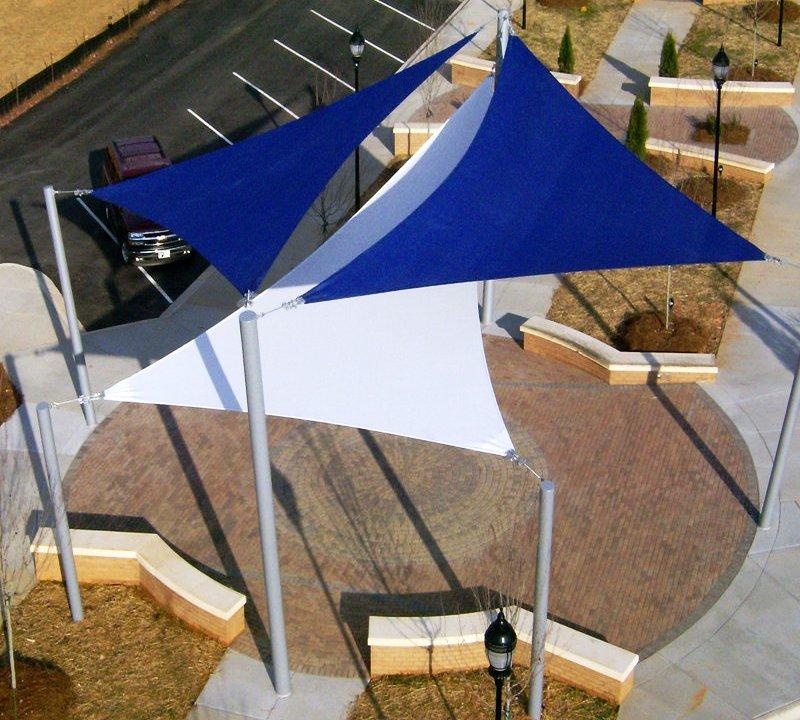 Easy shade : Vele triangolari a 3 lembi 160 gr