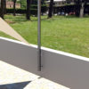 pali per vele ombreggianti a parete altezza variabile