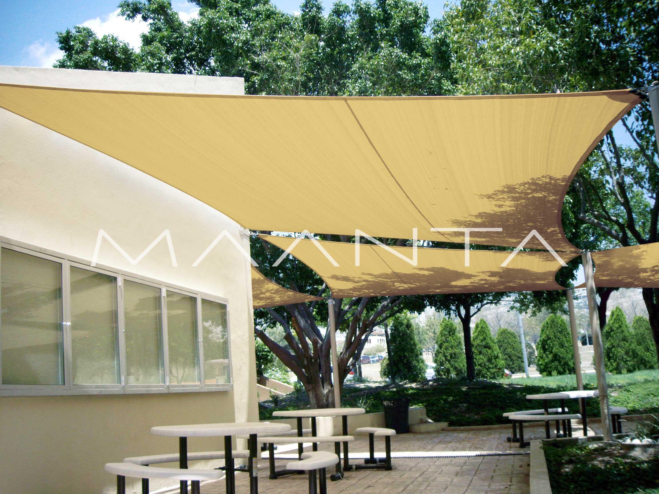 Tenda A Vela Quadrata : Tende a vela fisse avvolgibili prezzi e modelli tirichiamo