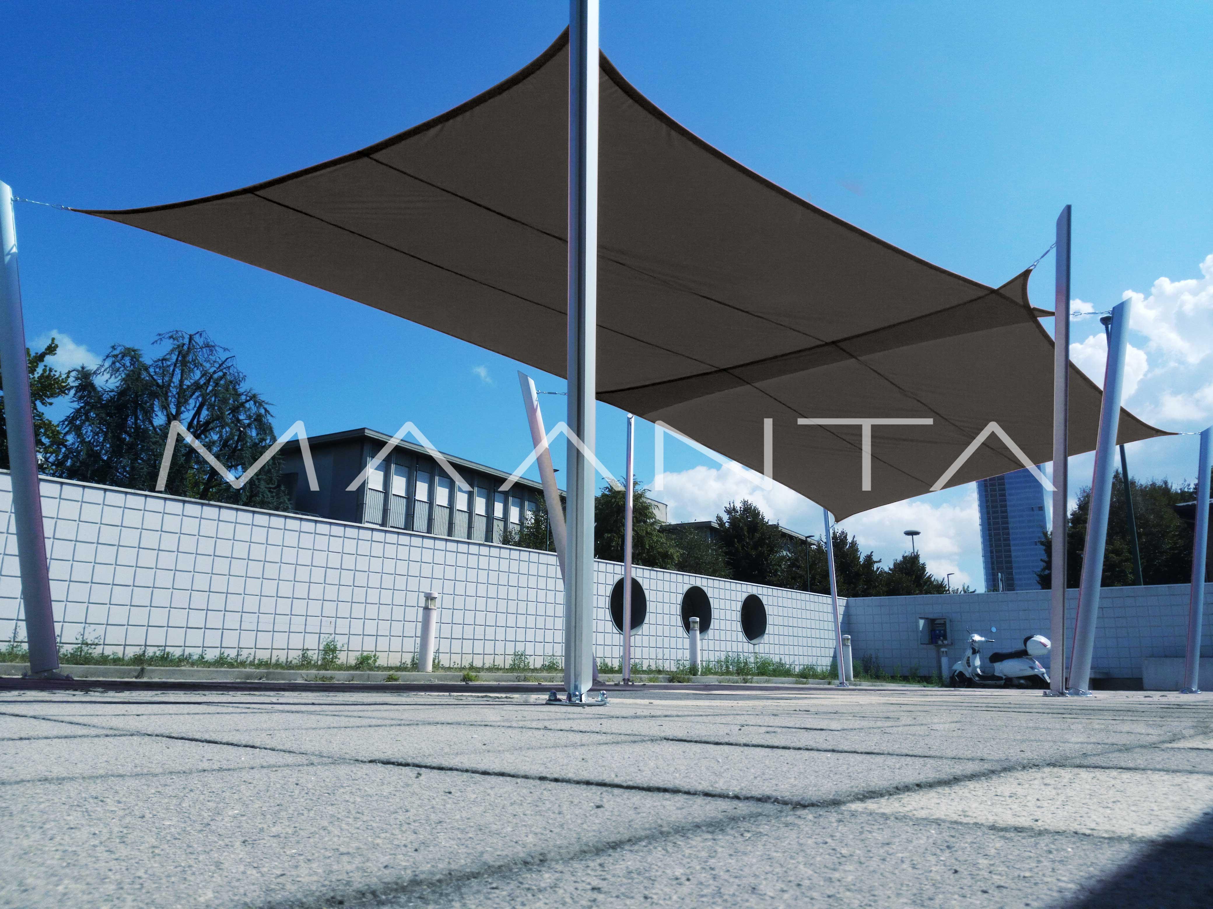 Easyshade vela impermeabile 160gr a 4 lembi maanta - Tende da sole per balconi ikea ...